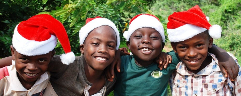 African Christmas.Supporting Us This Christmas African Promise
